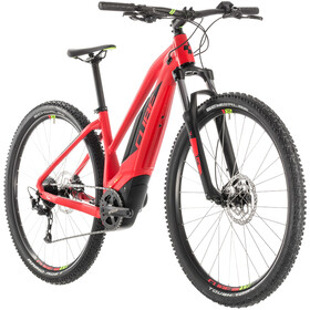 Cube Acid Hybrid ONE 500 E-mountainbike Trapez rød